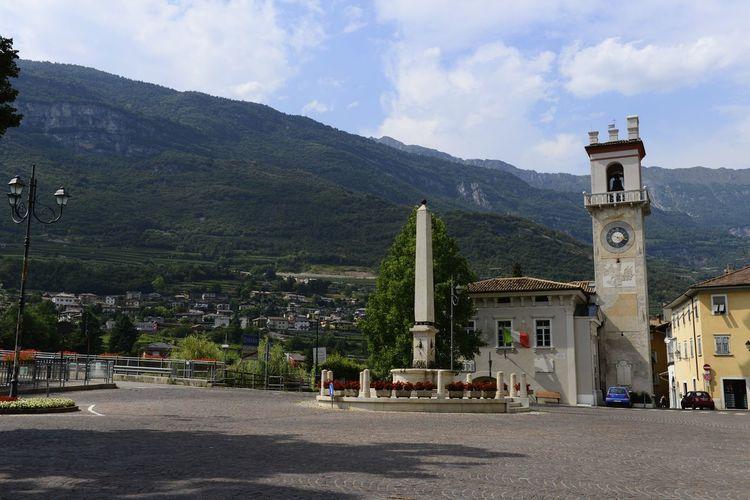 Cycling near Bolzano Italy on the road to Rome Alps Italy Square Alps Isera Italy Mountain Town Vintage