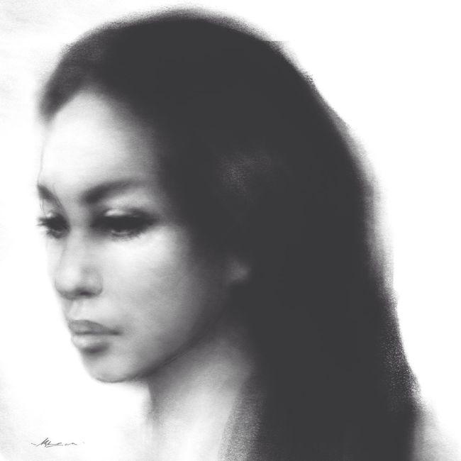 Portrait study, sepia charcoal on paper Art Artist Drawings Portrait Of A Woman Sketch Art, Drawing, Creativity Portrait Of A Friend Blackdrawing Drawing ArtWork Draw Charcoal Drawing EyeEm Charcoal Hello World