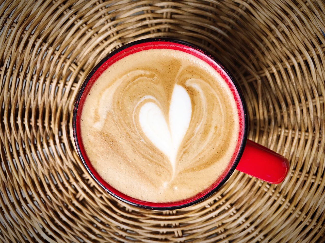 Love Coffee Coffee Time Coffee - Drink Heart Creativity Drink Heart Shape Coffee Cup Cappuccino Directly Above Food And Drink Love Pattern Latte No People Indoors  Froth Art Close-up Frothy Drink Concentric Freshness Day Food