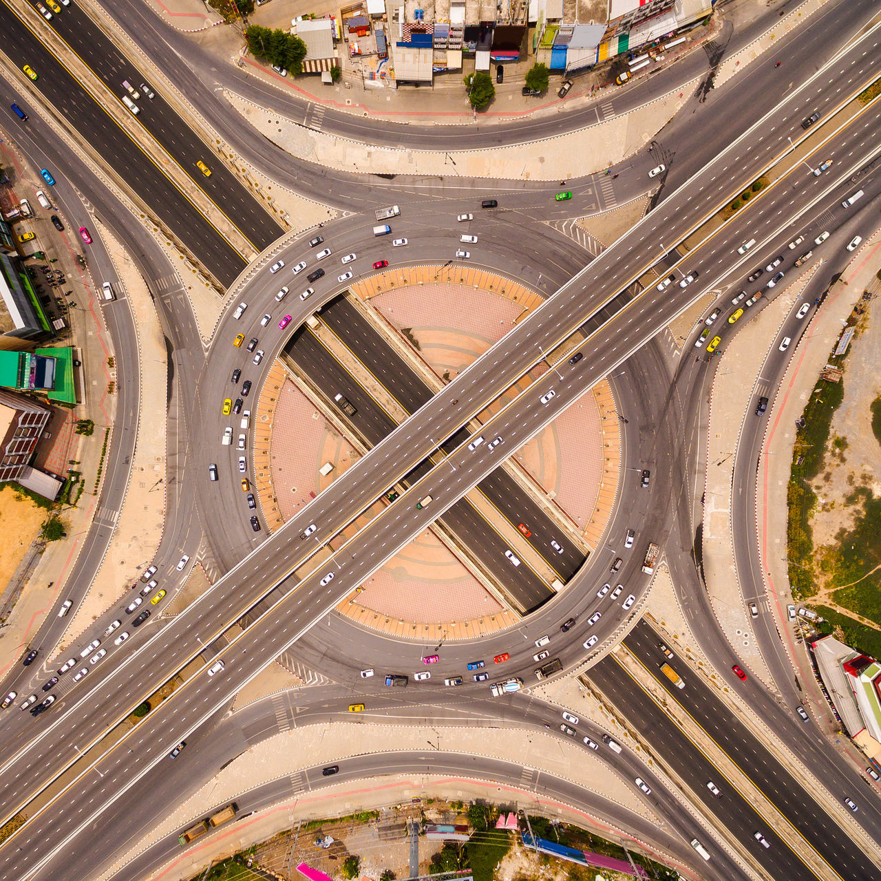 Aerial View Built Structure Car City City Life Connection Directly Above Driving Flying High Futuristic High Angle View Highway Illuminated Mode Of Transport Multiple Lane Highway Outdoors Overpass Road Road Intersection Speed Street Street Light Traffic Transportation Two Lane Highway