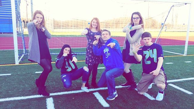 """Privileged """"Thug"""" Life. Class Cheese! Taking Photos Outside During The Fire Drill Learning Stupid Unecessary Fire Drills"""