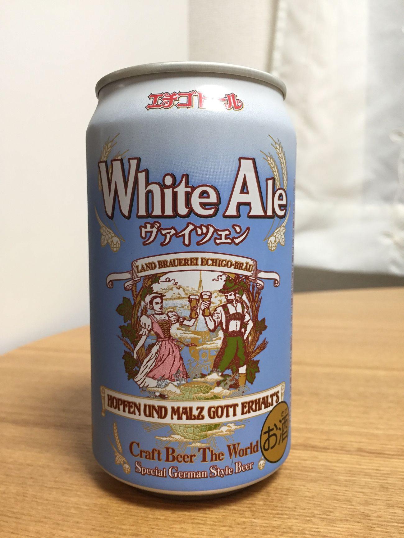 エチゴビール white ale weizen頂き( ^ ^ )/■ Beer 麦酒