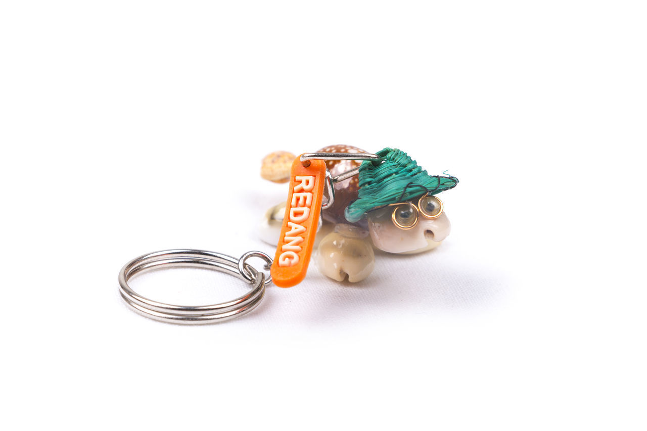Redang Island key chain souvenir on a white background. ASIA Beach Collection Destination Enjoy Gift Holiday Island Journey Key Chain Life Malaysia Redang Island Souvenir Tortoise Tourism Travel Trip Turtle Vacation White Background