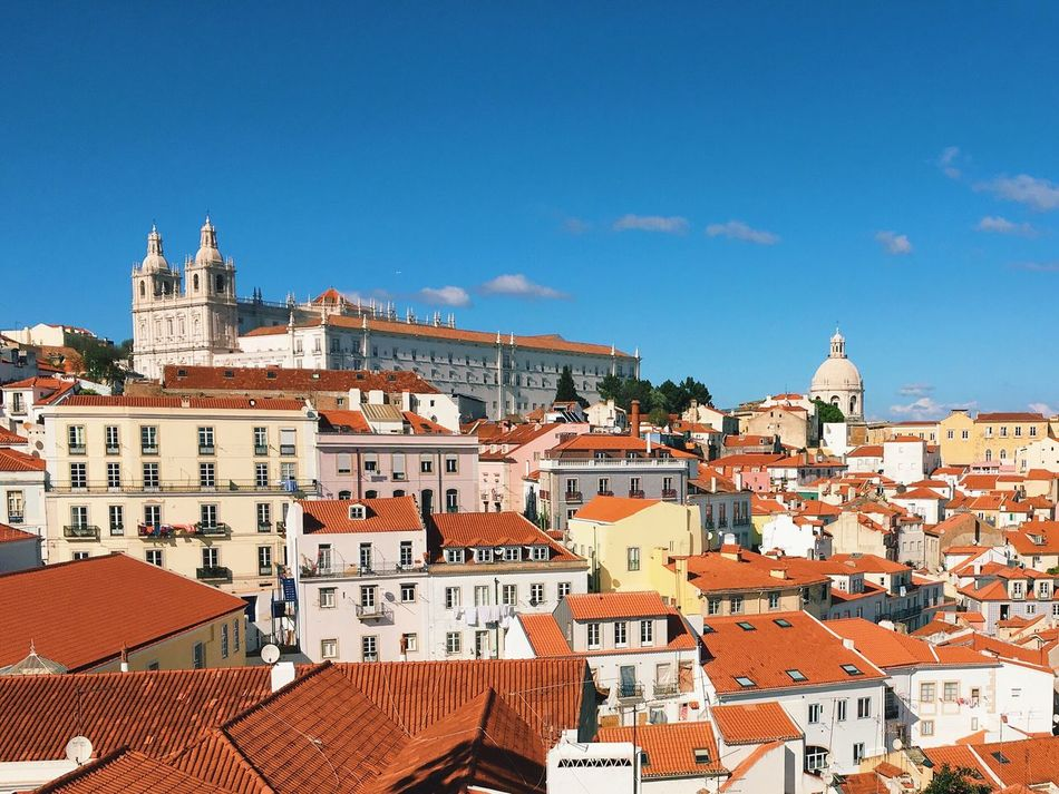 Beautiful stock photos of portugal, Architecture, Blue, Brown, Building Exterior