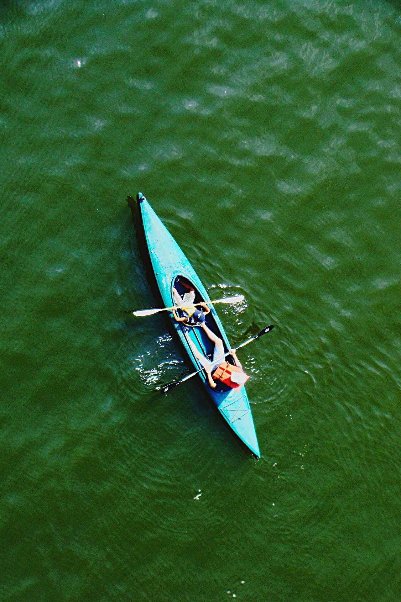 Beautiful stock photos of lake, Boat, Canoe, Day, High Angle View