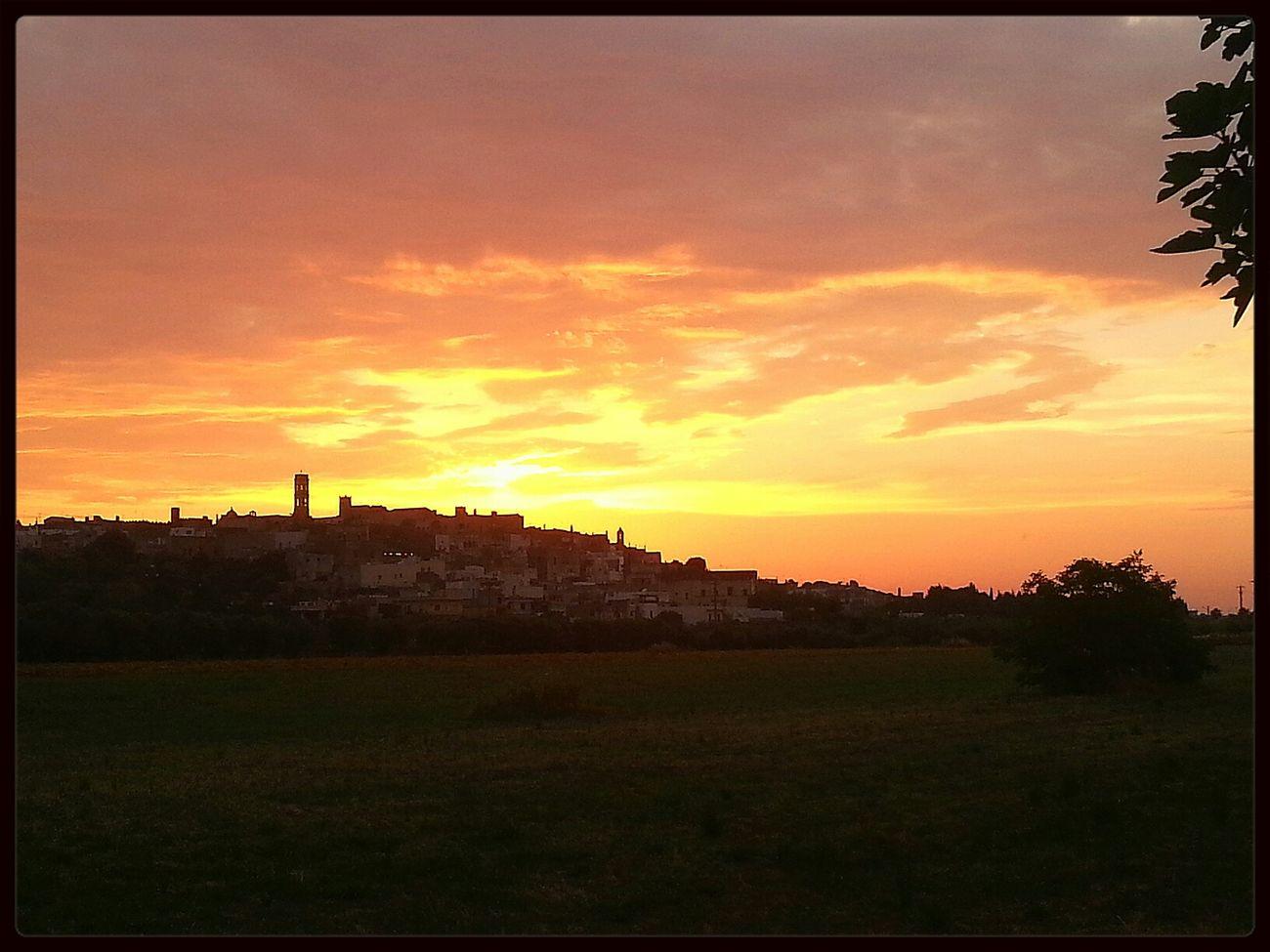 Sunset Enjoying Life The Explorer - 2014 EyeEm Awards Specchia