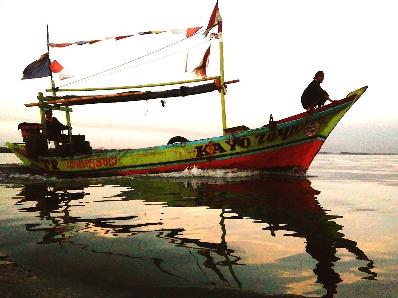 Perahu Harapanku Nelayan Muara Angke