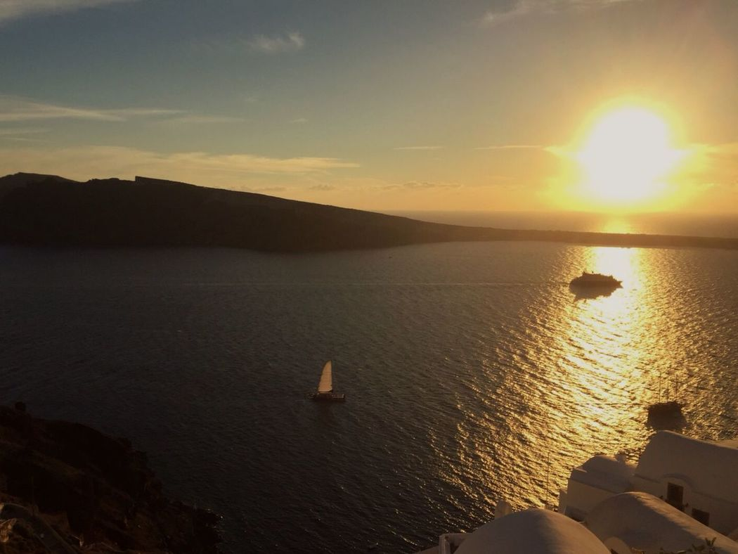 From Santorini With Love Sunset Beautiful Surroundings Enjoying Life Life Is A Journey.