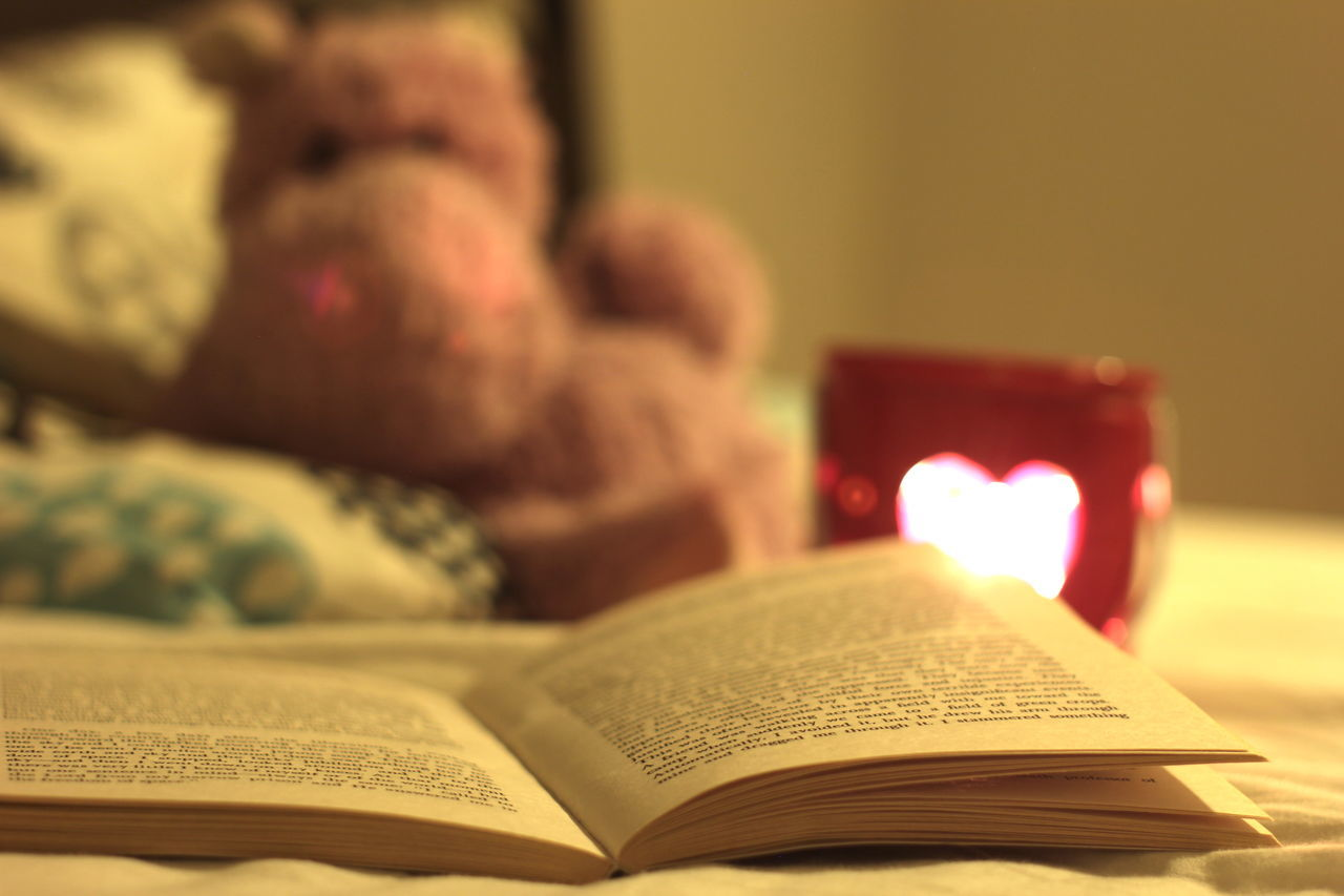 Alone Alone... Bed Bedroom Book Candle Cozy Cuddle Evening Learning Lonely Reading Reading Reading & Relaxing Reading A Book