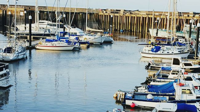 Out And About England Watchet Boats Coastal