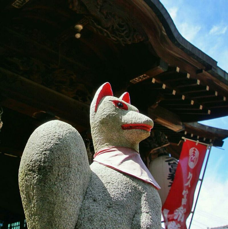 Spiritual Foxes Inari-jinjya Shrine