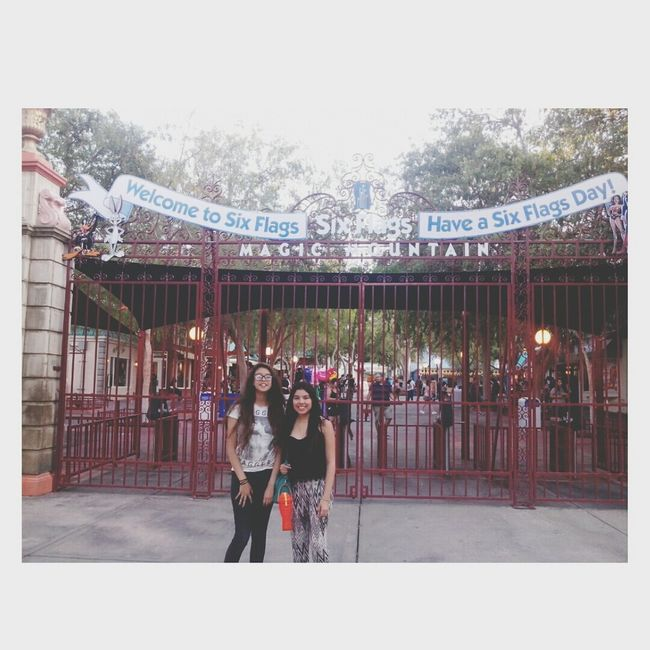 Six Flags Yesterday ! ✌ Six Flags Magic Mountain