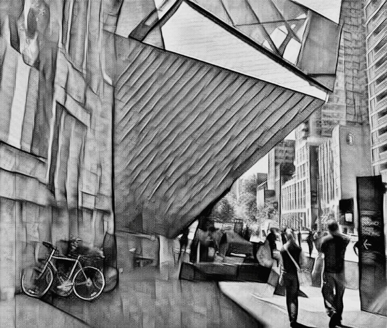 Toronto Building Exterior Shadows & Lights City Blackandwhite EyeEm Best Shots Architecture Art Photography