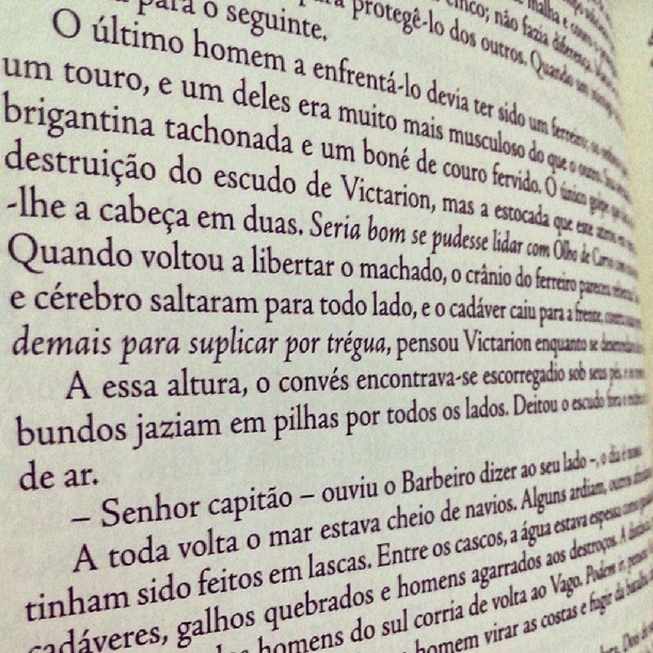 Leitura básica antes de dormir. Got Asoief OFestimDosCorvos Victarion Greyjoy