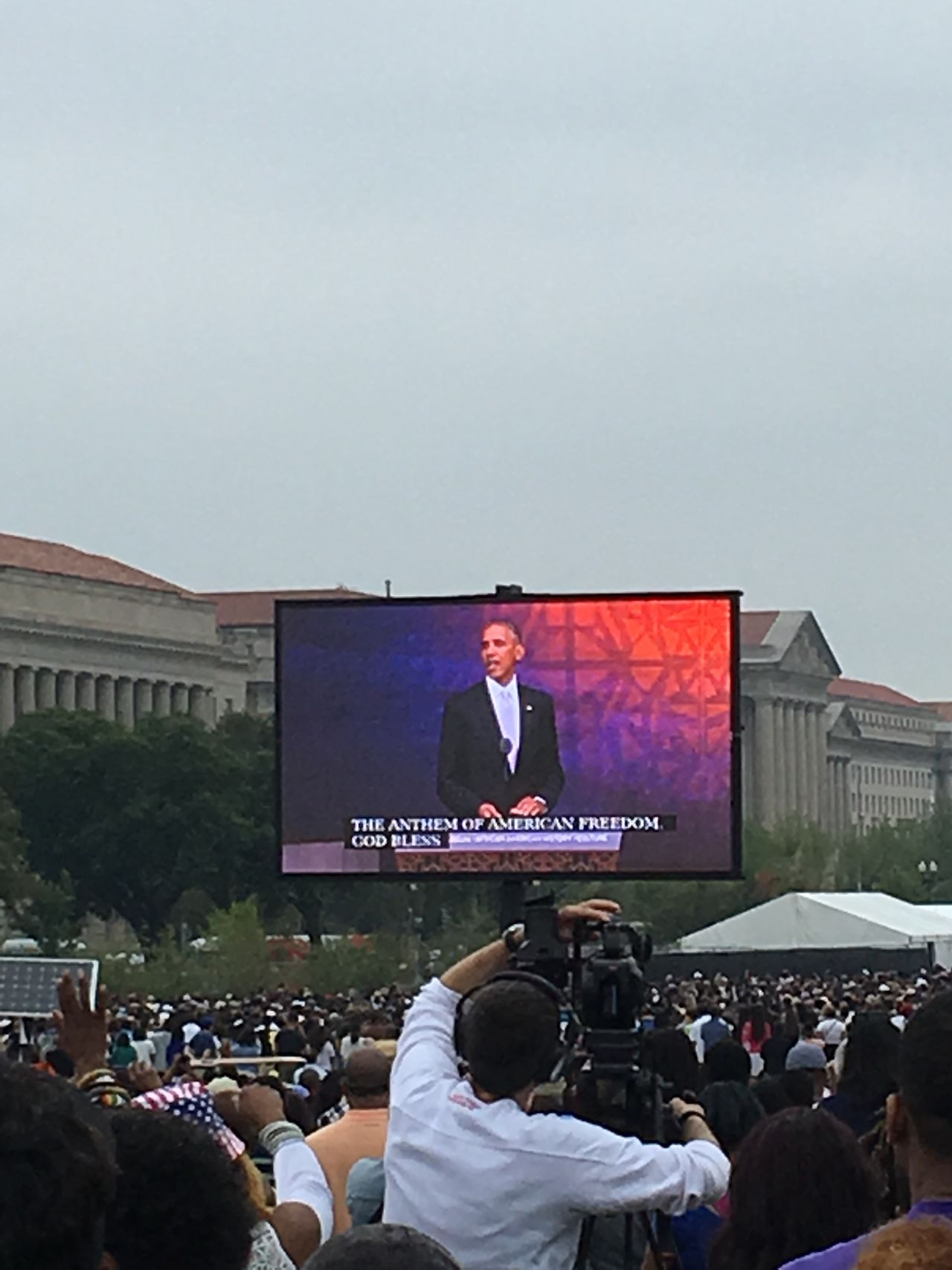 Opening ceremony at the NMAAHC NMAAHC Smithsonian President Obama People And Places
