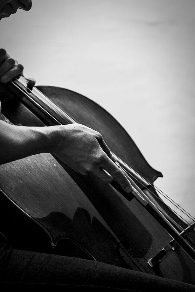 An improvisation for cello and saxophone by Emilie Girard-Charest and Marc Vilanova Pinyol. Check out the gallery and video at http://wp.me/p3WdQo-nb Monochrome_life Monochrome Blackandwhite Music Musicians