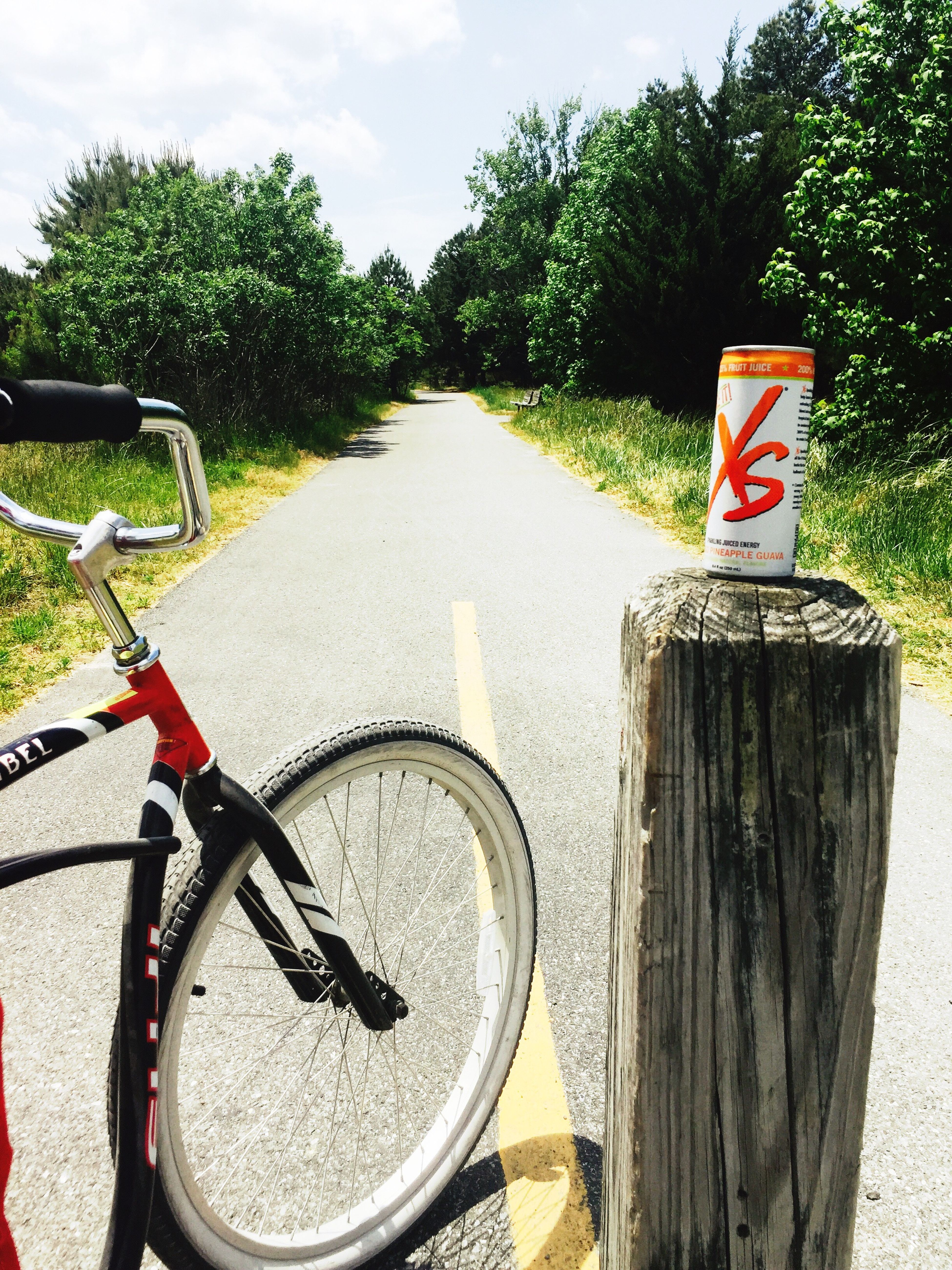 Stay fit, you have only one body! XS Energy VitaminB12 Healthyenergydrink Stay Active Live Long Bike Ride State Park
