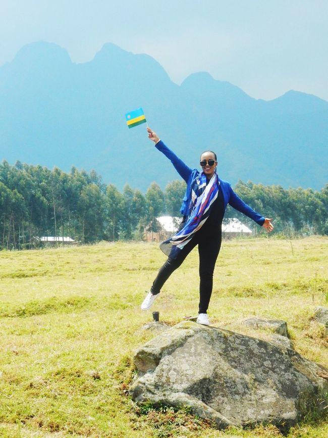 Mountain Ruhengeri Gorilla Naming Rwanda