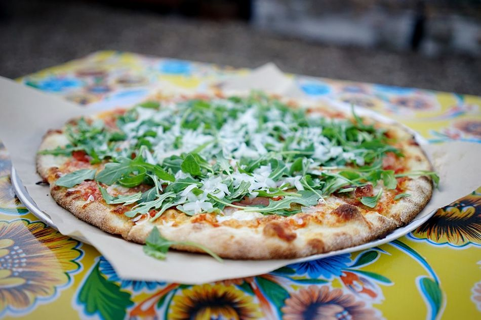 Beautiful stock photos of pizza, Arugula, Day, Elevated View, Food And Drink