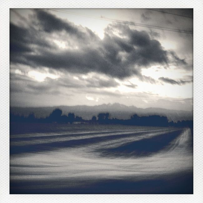 Blackandwhite Landscape italy