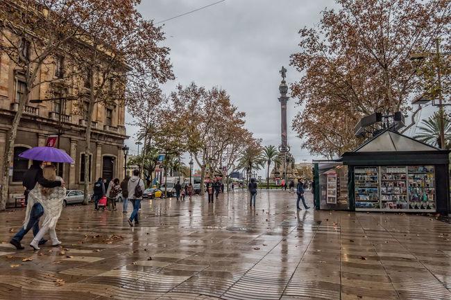 Al final de las Ramblas Rx100mk2 Barcelonalove Rainy Days☔