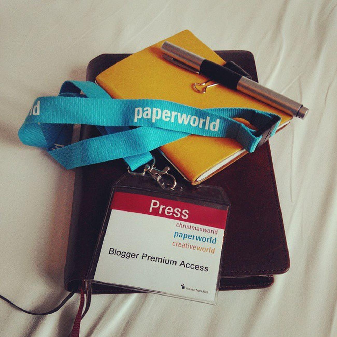Ja dann jetzt wohl Premium Blogger! Paperworld Bloggerlife Zoomlab Zoomlabontour zot messefrankfurt