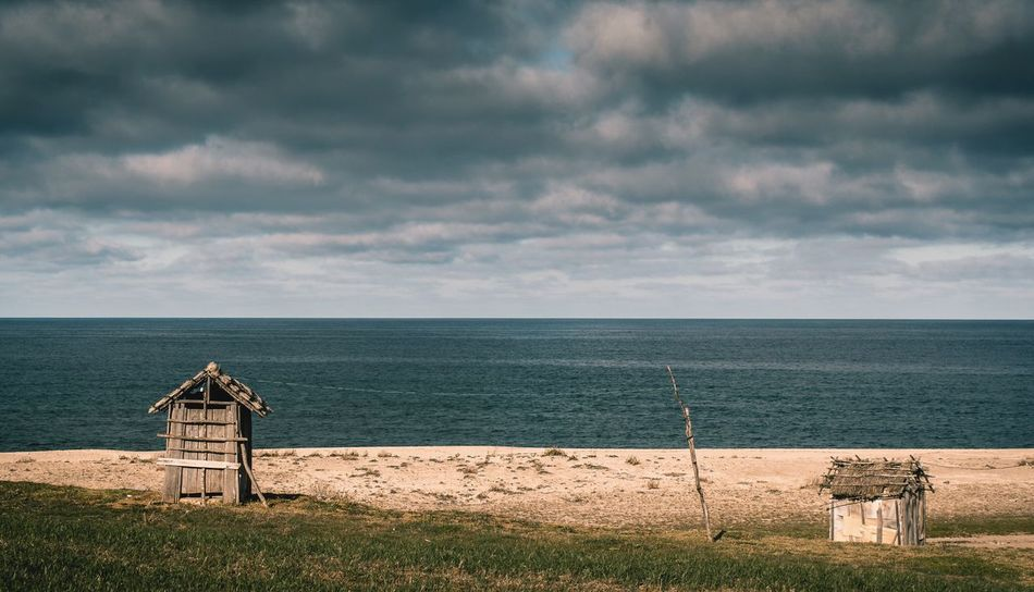 Sea Water Nature Horizon Over Water Sky Built Structure No People Outdoors Canonphotography Canon Landscape Beach Nature Cloud
