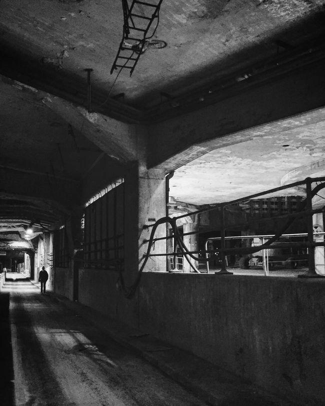 Tunnel EyeEm Best Shots - Black + White Monochrome Silhouette Street Photography