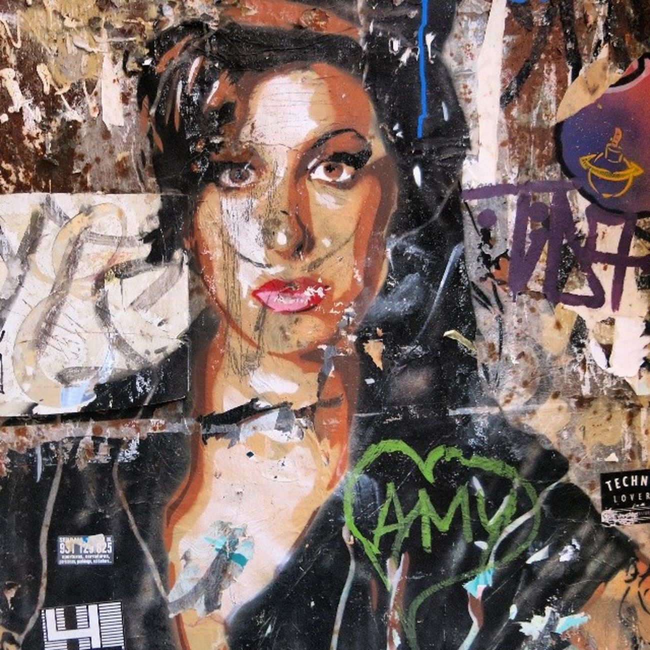 Irememberyou Barcelonastreetart Street Art Barcelona Amy Amywinehouse 4YearsAgo