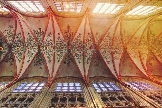 Cathredal in Den Bosch Architecture EyeEm Best Shots Netherlands Ceiling