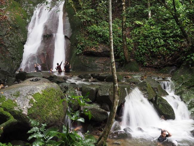 Beauty In Nature Kipungit Waterfall, Kundasang Sabah Malaysia Long Exposure Motion Nature Outdoors Scenics Waterfall