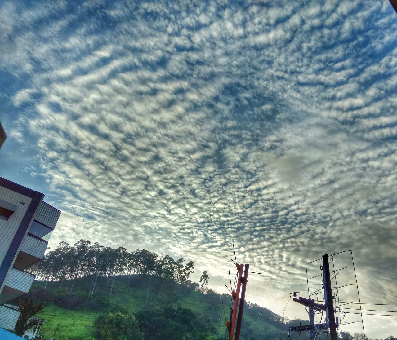 cloud - sky, sky, low angle view, nature, tree, beauty in nature, no people, built structure, architecture, building exterior, outdoors, day, scenics