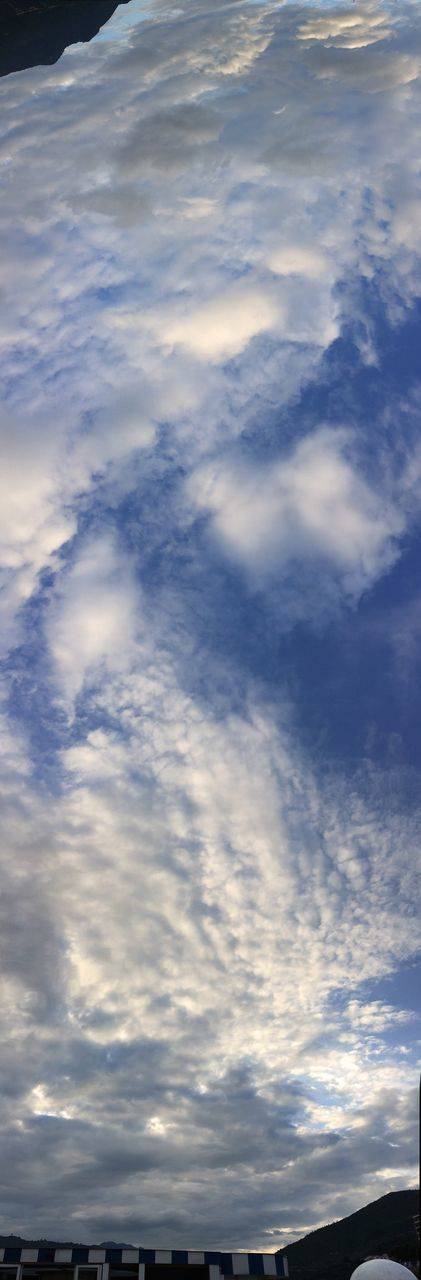 cloud - sky, beauty in nature, sky, nature, scenics, tranquility, no people, tranquil scene, backgrounds, outdoors, low angle view, sky only, day