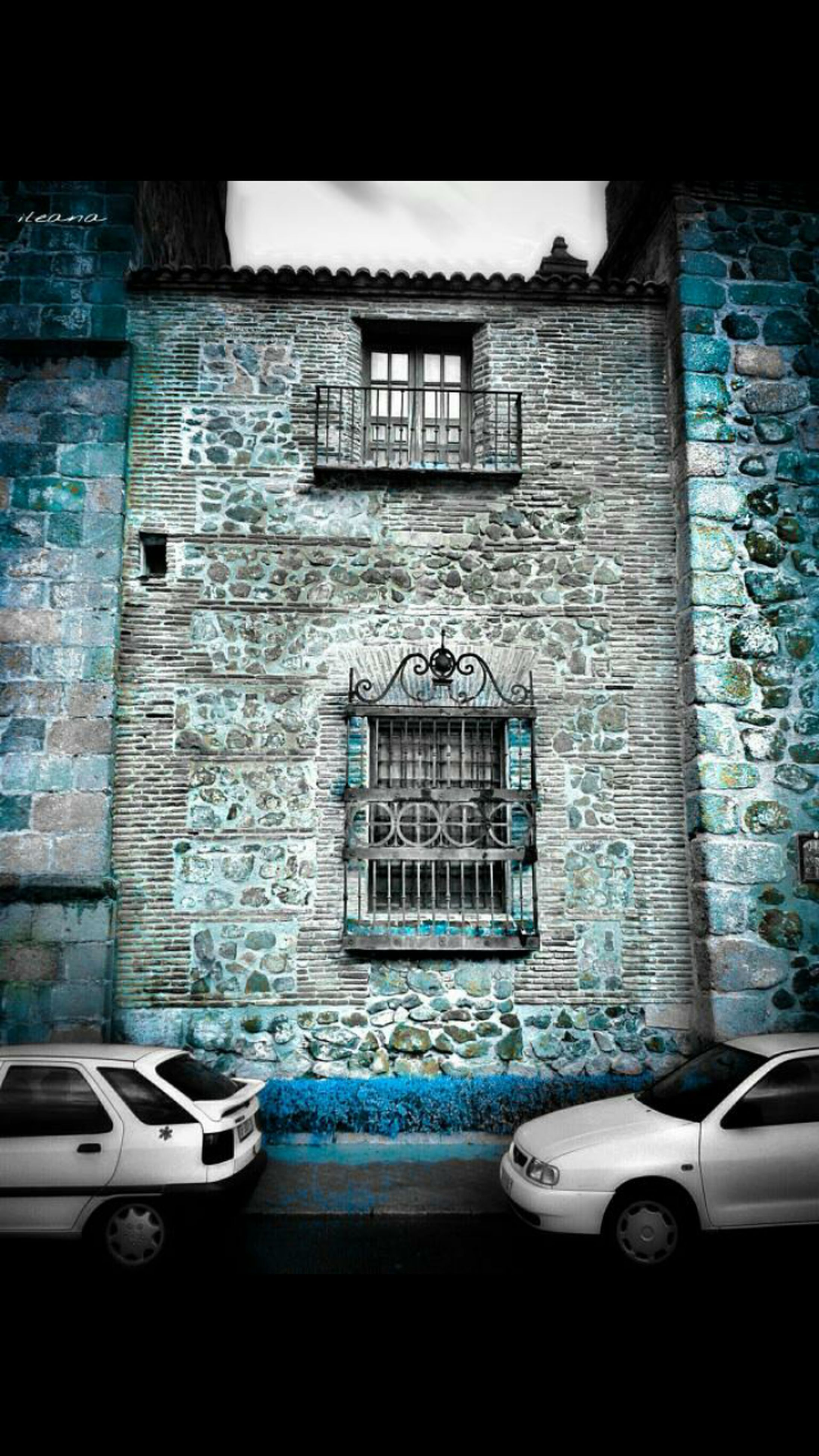 window, architecture, built structure, building exterior, wall - building feature, house, wall, transportation, building, indoors, door, blue, no people, mode of transport, glass - material, residential building, day, residential structure, land vehicle, reflection