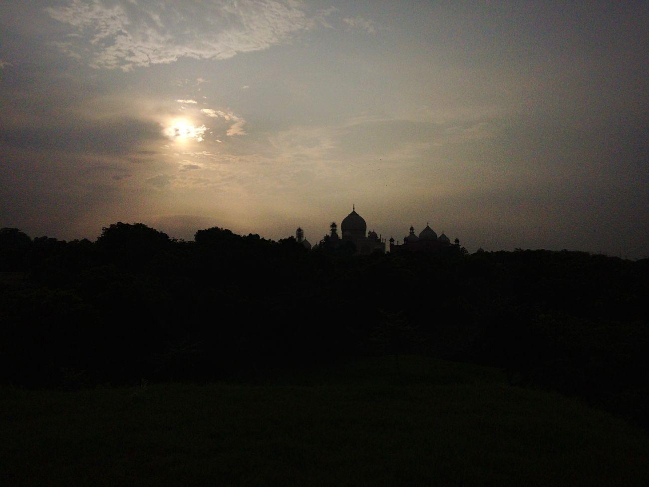 Sky No People Sunset Architecture Landscape Day Taj Mahal Mughalarchitecture Love History First Eyeem Photo