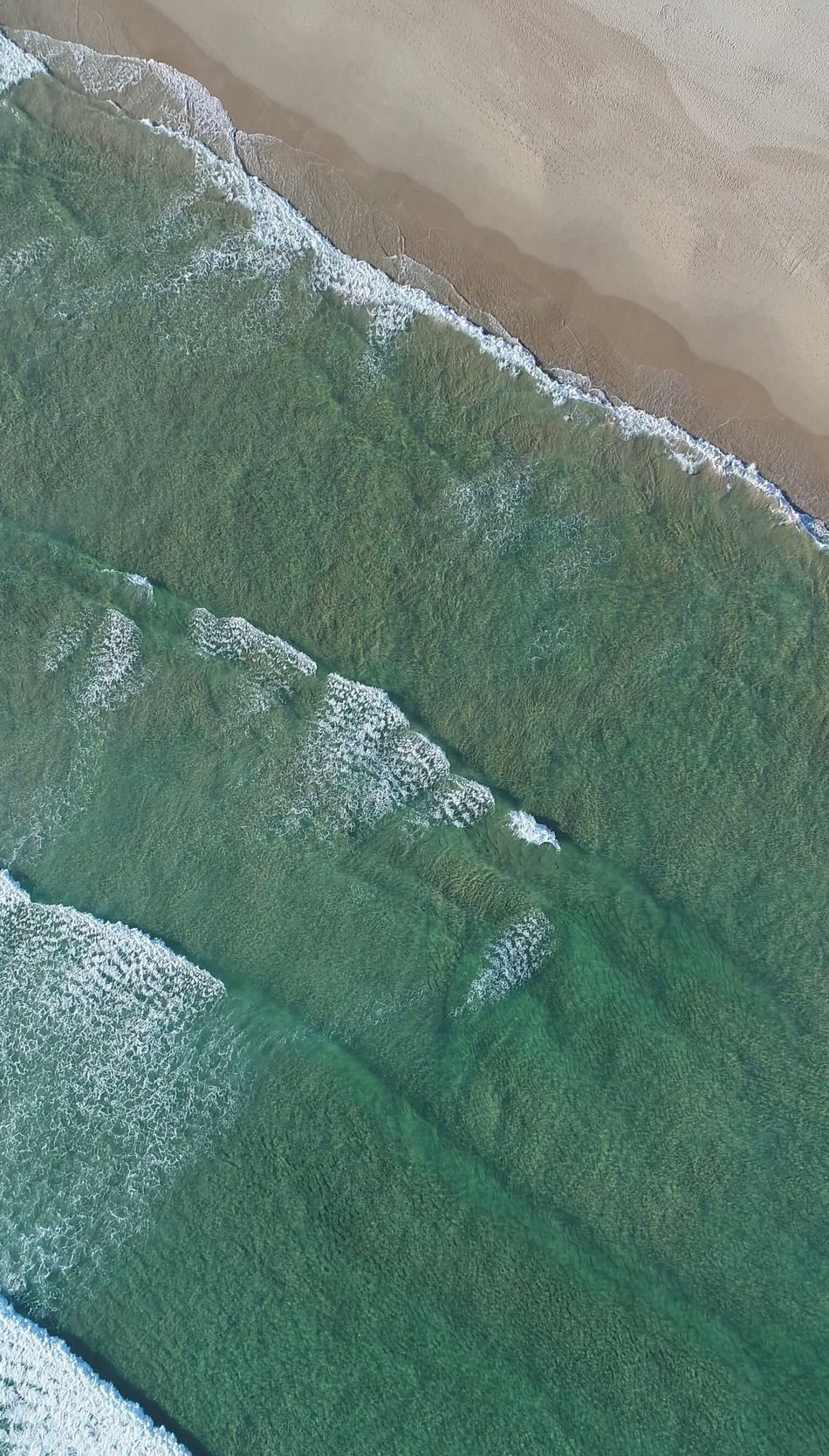 Drone aerial footage of beach/waves🌊 Agriculture Nature Green Color High Angle View Field Landscape Tranquility Beauty In Nature Day No People Rural Scene Scenics Outdoors Phantom 4 Pro Drone  Droneshot Dronephotography Backgrounds Power In Nature Sea Wave Motion Winter