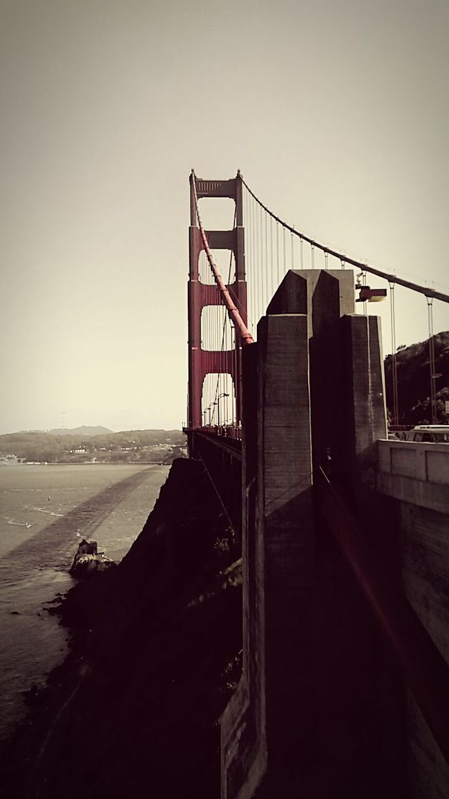 Pastel Power Sanfrancisco Golden Gate Bridge Memorizing