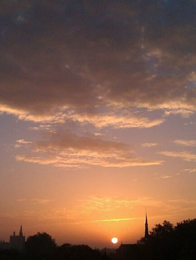 City Cloud_collection  Sunset Sky_collection #holland