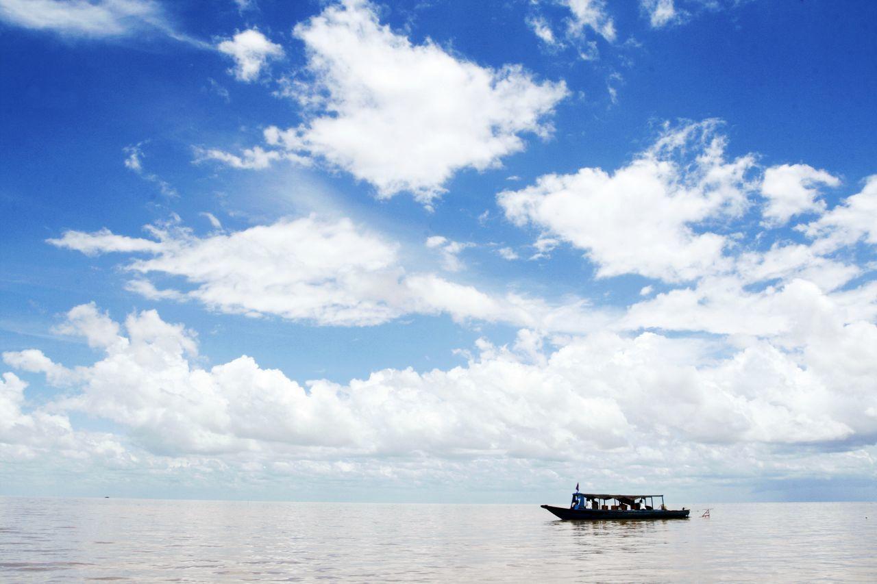 Beautiful stock photos of sailing, Blue, Boat, Cloud, Cloudscape