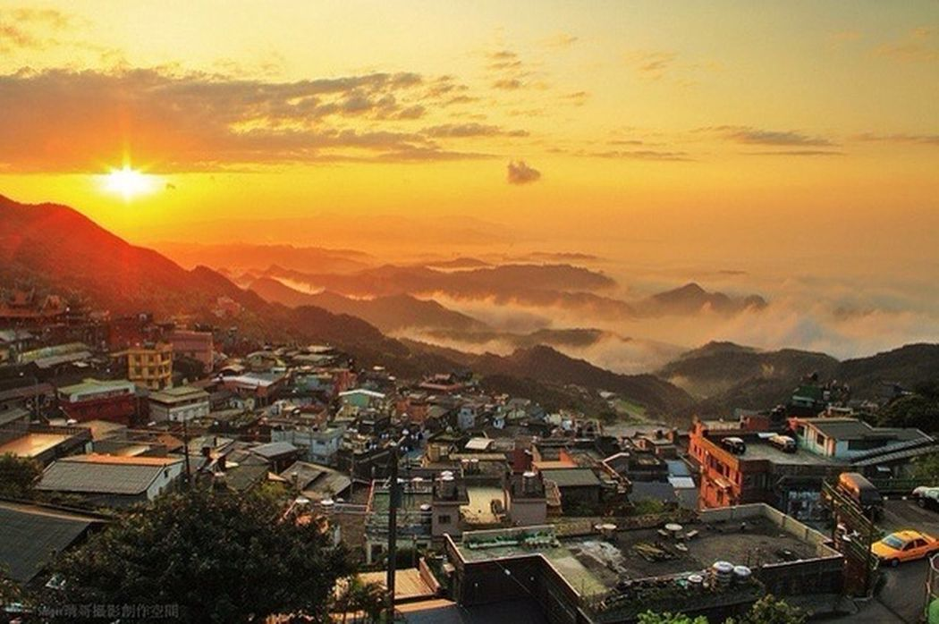 Different view of Jioufen town!