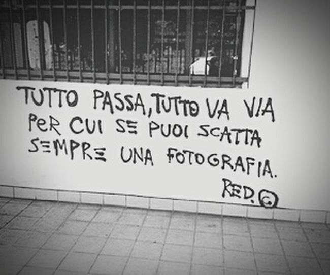 Scritte Sui Muri Fotografia