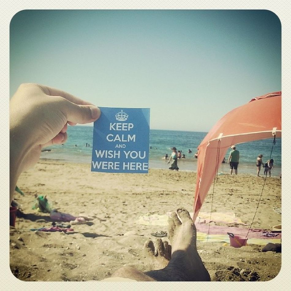 Wish you were here.....