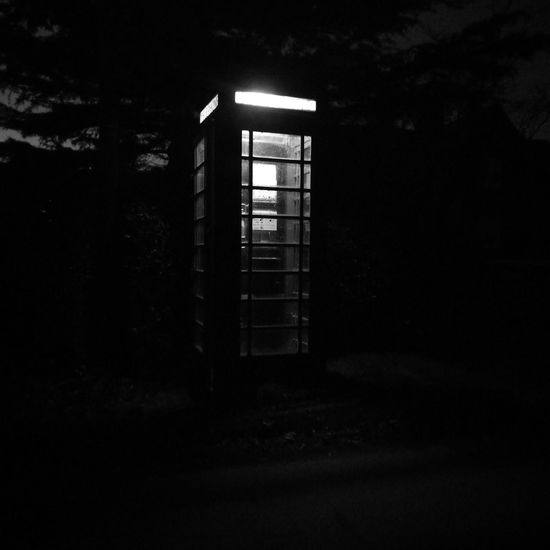 Wressle Phone Box B&w Street Photography Indoors  No People Built Structure Day Architecture