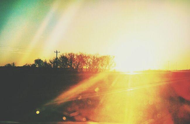 Sunset My Oklahoma In Oklahoma City