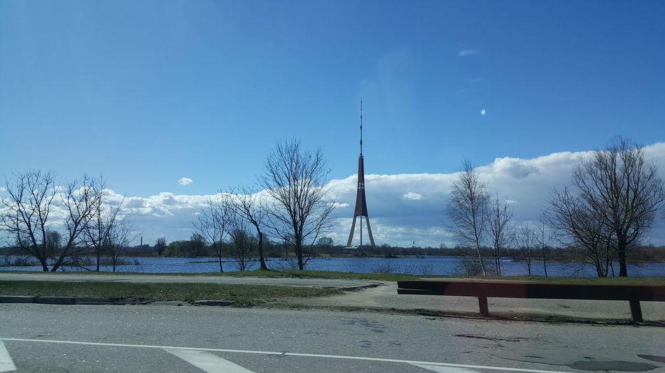 The Week On EyeEm Sky Tree Day Outdoors Nature Blue No People TV Tower Riga Riga Latvia Rigaphotos