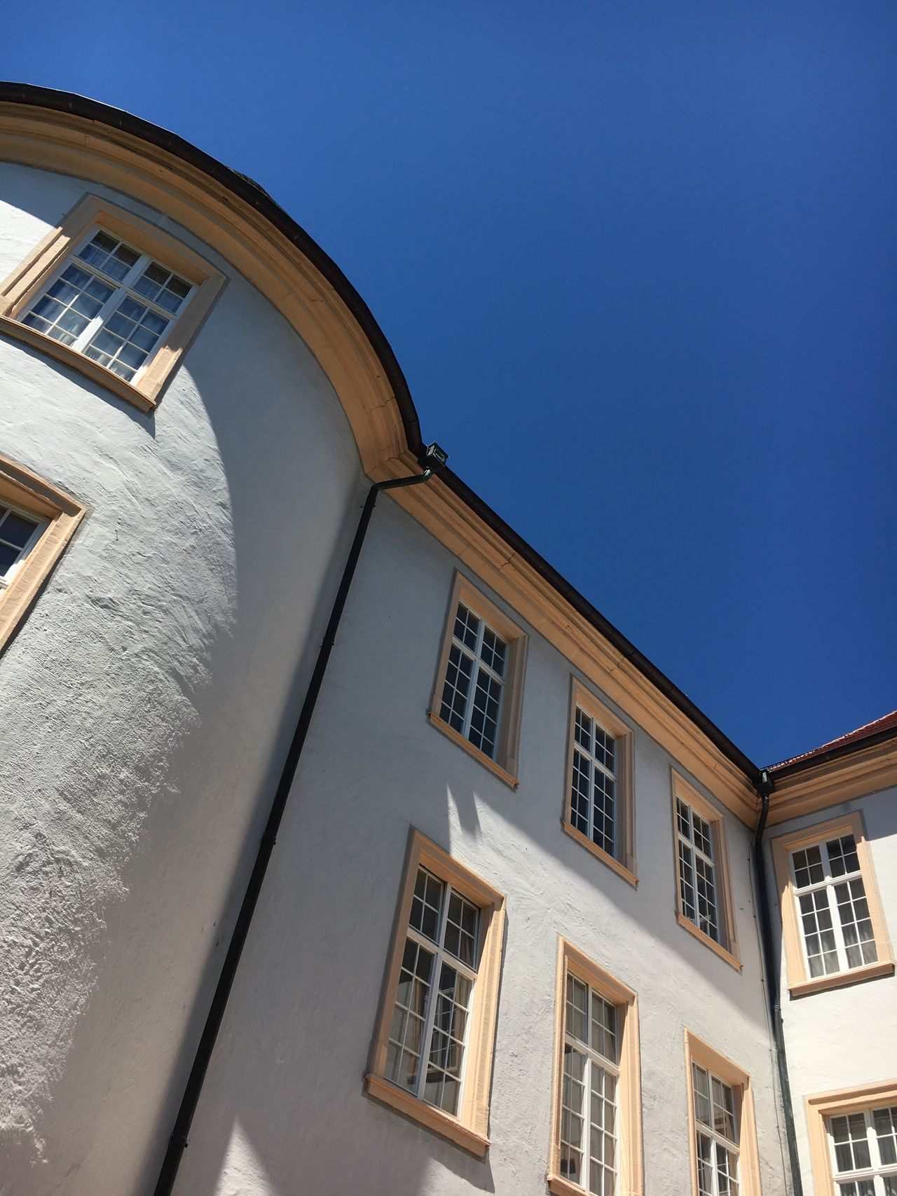 Architecture Built Structure Building Exterior Window Low Angle View Day No People Clear Sky Outdoors Sky City Ettlingen Schloss Castle