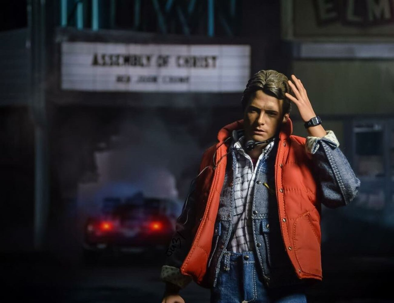 """Tomorrow was a much better day"" Backtothefuture Toyphotography Hottoys Figure 80s Michaeljfox"