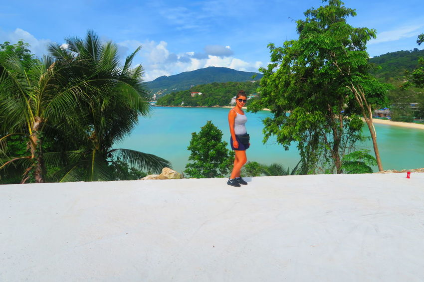 take me back to paradise Beach Beauty In Nature Blue Cloud Cloud - Sky Enjoyment Fun Leisure Activity Mountain Nature Outdoors Phuket,Thailand Sky Thailand Tranquil Scene Tranquility Tree Trekking Vacations View Water