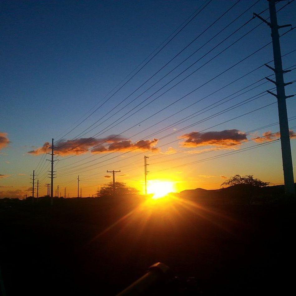 Heading home Clockingout Wwm Buddysystem Datsunset w/ @adam_rivera96792