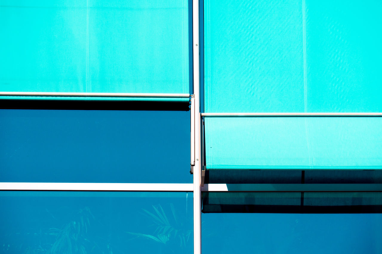 blue variations Architecture Architecture Backgrounds Blue Close-up Day Full Frame Glass Minimalism Minimalist Architecture Minimalobsession Multi Colored No People Window